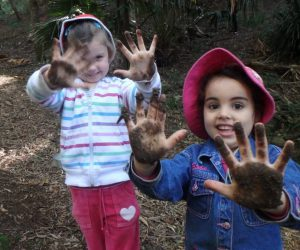 Bush Preschool, children not afraid to get their hands dirty, KCPS