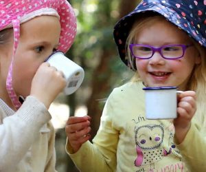morning cup of tea in the bush, keiraville community preschool